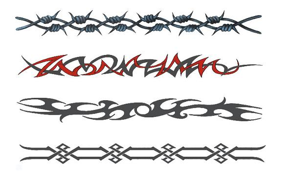 P3 Ultimate Armband Temporary Tattoo Package